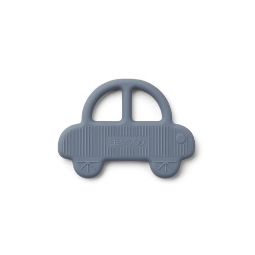 Liewood Liewood | Gemma teether Car | Auto bijtring blue wave