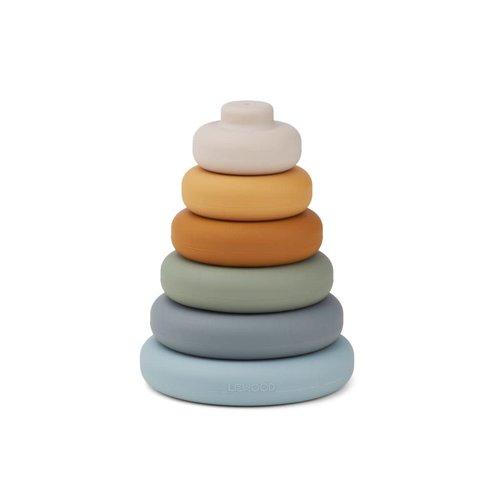 Liewood Liewood | Dag stacking tower | Stapeltoren blauw