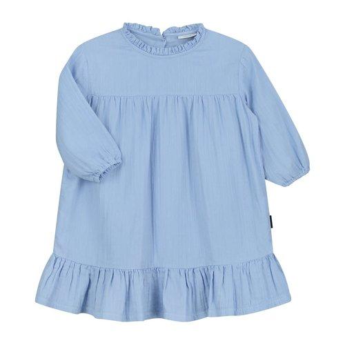 Daily Brat Daily Brat   Lois oversized ruffle dress   Serenity Blue
