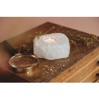 The Spirit Junkies | Bergkristal | Waxine lichtje
