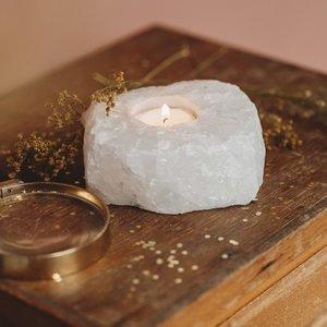 The Spirit Junkies The Spirit Junkies | Bergkristal | Waxine lichtje