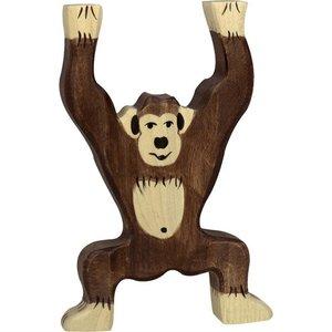 Holztiger Holztiger | Chimpansee staand