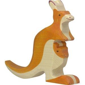 Holztiger Holztiger   Kangoeroe met jong   8680193