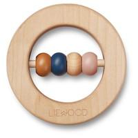 Liewood | Elton rattle | Houten bijtring
