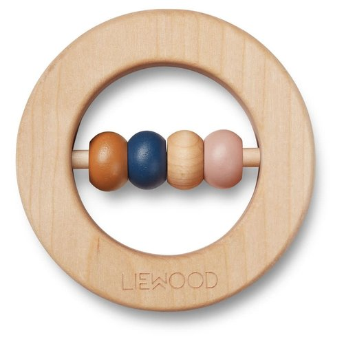 Liewood Liewood | Elton rattle | Houten bijtring