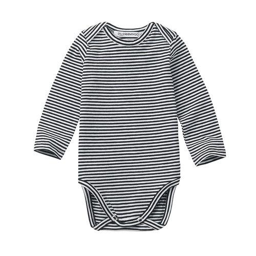 Mingo kids Mingo | Basics longsleeve romper stripes