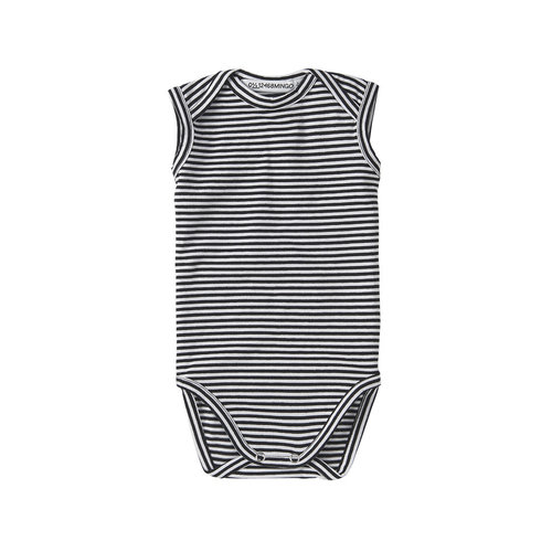 Mingo kids Mingo | Basics sleeveless romper stripes
