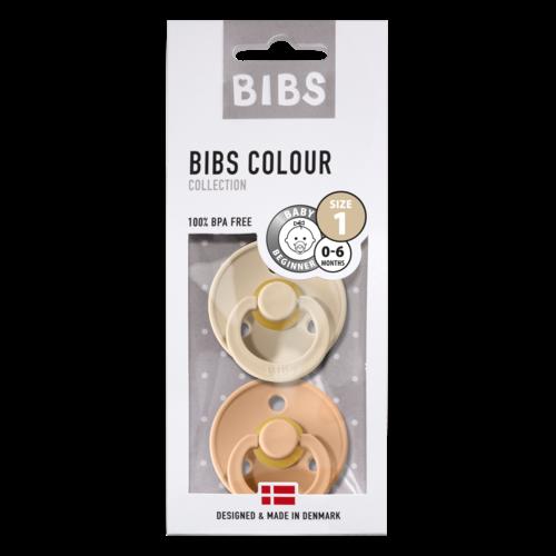 Bibs BIBS | Fopspeen natuurrubber Blister | T1 / 0-6 maand