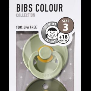 Bibs BIBS | Fopspeen natuurrubber Blister | T3 / 18+ maand
