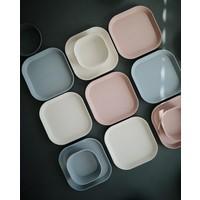 Mushie | Plates square | Set van 2 borden
