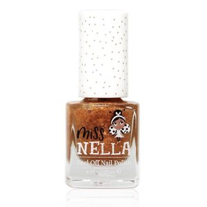 Miss Nella Miss Nella | Nagellak 'Open, Sesame!' | Goud met glitters