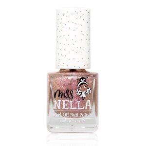 Miss Nella Miss Nella | Nagellak 'Abracadabra' | Toverroze met glitters