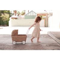 Olli Ella | Strolley Natural | Rotan poppenwagen