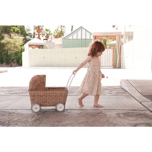 Olli Ella Olli Ella | Strolley Natural | Rotan poppenwagen