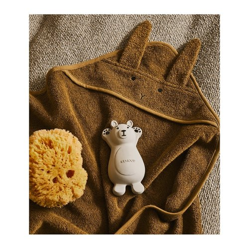 Liewood Liewood | Albert Hooded Towel | Rabbit Olive Green