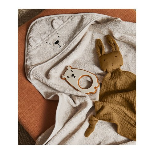 Liewood Liewood | Albert Hooded Towel | Ijsbeer Sandy