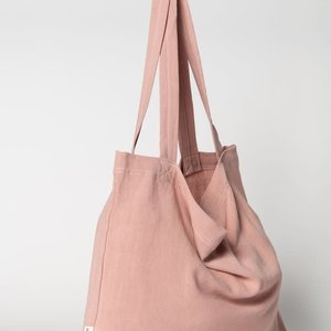 Studio Noos Studio Noos | Pink Cloud mom-bag
