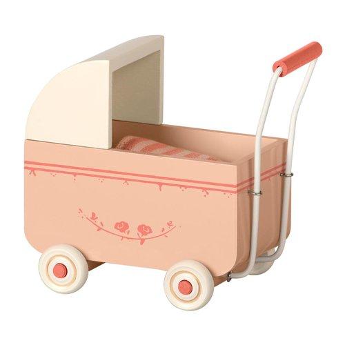 Maileg Maileg | Retro kinderwagen | Roze
