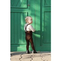 Silly Silas | Maillot met bretels | Chocolade bruin