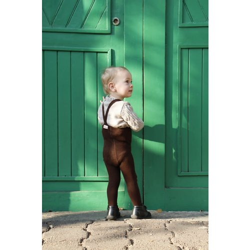 Silly Silas Silly Silas | Maillot met bretels | Chocolade bruin