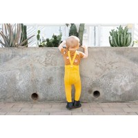 Silly Silas | Maillot met bretels | Sunny geel