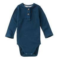 Mingo | Rib Bodysuit Teal Blue
