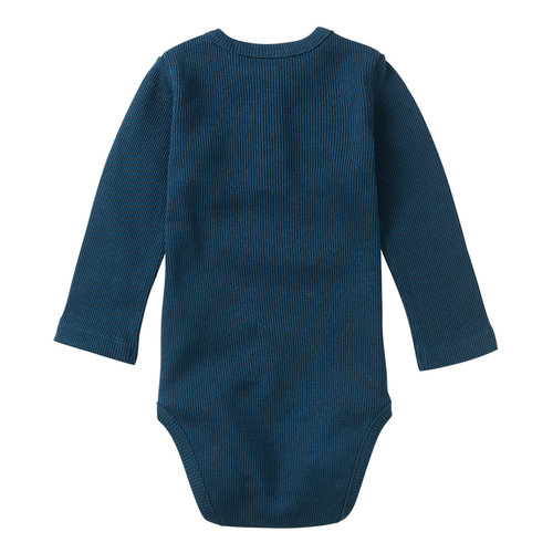 Mingo kids Mingo | Rib Bodysuit Teal Blue