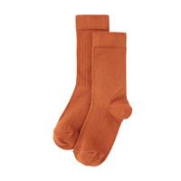 Mingo | Rib Socks Dark Ginger