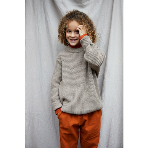 Mingo kids Mingo | Cropped Chino Light Terracotta