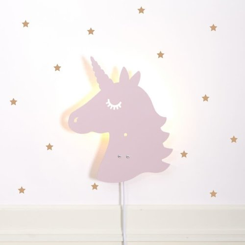 Roommate Roommate | Unicorn lamp | Pale Rose