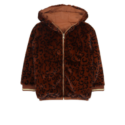 Ammehoela Ammehoela | AM.Lola.03 | Winterjas Brown/ Leopard