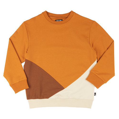 CarlijnQ CarlijnQ | Basics | Sweater Block Multi Brown