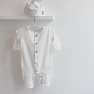 Nixnut Nixnut | Butt onesie | Off white boxpakje