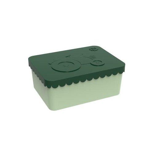 Blafre Blafre | Lunchbox 1 vak | Tractor groen