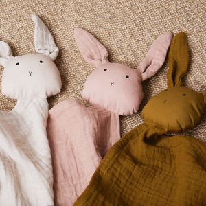 Liewood Liewood | Agnete knuffeldoek | Rabbit Olive Green