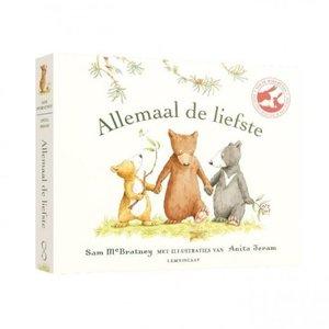 Boeken Allemaal de liefste   Prentenboek (luxe kartonboek)