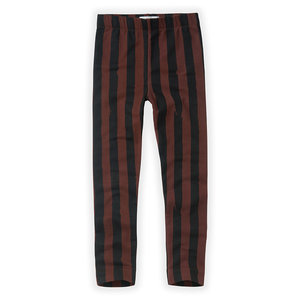 Sproet & Sprout Sproet & Sprout | Pants Painted Stripe Chocolate