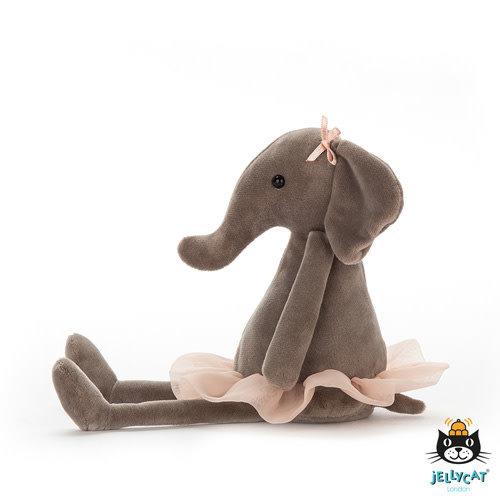 Jellycat Jellycat | Dancing Darcey Elephant knuffel Small