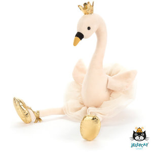 Jellycat Jellycat | Fancy Swan | Zwaan knuffel Medium