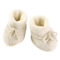 Engel Natur | Baby booties | Slofjes wol | Naturel