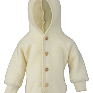 Engel Natur Engel Natur | Hooded Jacket | Baby jasje wol | Naturel