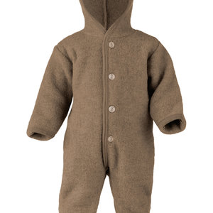 Engel Natur Engel Natur | Hooded Overall | Onesie | Walnoot