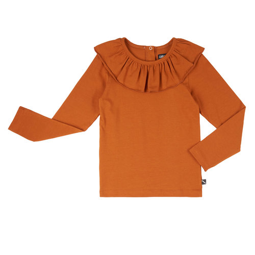 CarlijnQ CarlijnQ | Longsleeve with big collar | Roest