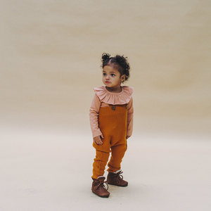 CarlijnQ CarlijnQ | Knitted Salopette | Pumpkin