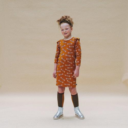 CarlijnQ CarlijnQ | Candy Dress | Jurk met ruffles