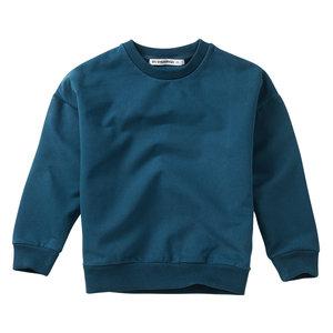 Mingo kids Mingo | Sweater Teal Blue | blauwe sweater