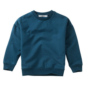 Mingo Mingo | Sweater Teal Blue | blauwe sweater