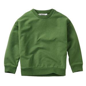 Mingo kids Mingo | Sweater Moss Green | Groene sweater