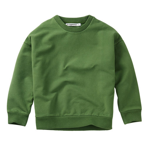 Mingo Mingo | Sweater Moss Green | Groene sweater