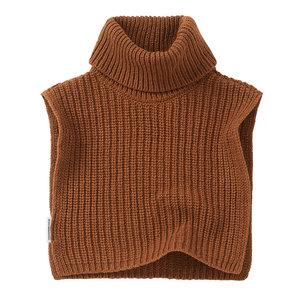 Mingo kids Mingo | Soft Knit Collar | Pecan (col bruin)